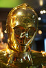 This is the original C-3P0 costume, worn by Anthony Daniels.<br /> _MG_6853