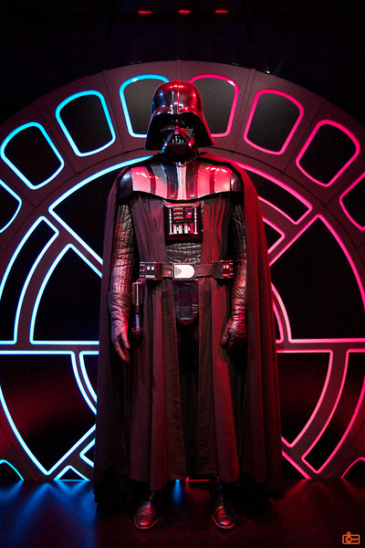 This is the original costume for Darth Vader, worn by David Prowse. What an amazing piece of film history.<br /> _MG_6896