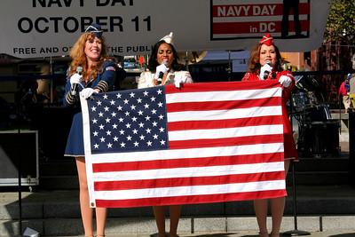 Navy Day in DC - Navy Memorial Oct 11, 2008