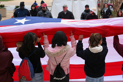 folding our Flag (National Museum of American History)