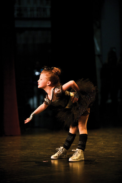 "Matthew Gaston | The Sheridan Press<br>7-year-old Graciee Tellez performed a high energy dance routine for audition for ""Stars of Tomorrow"" at the WYO Theater Thursday, Feb. 7, 2019."