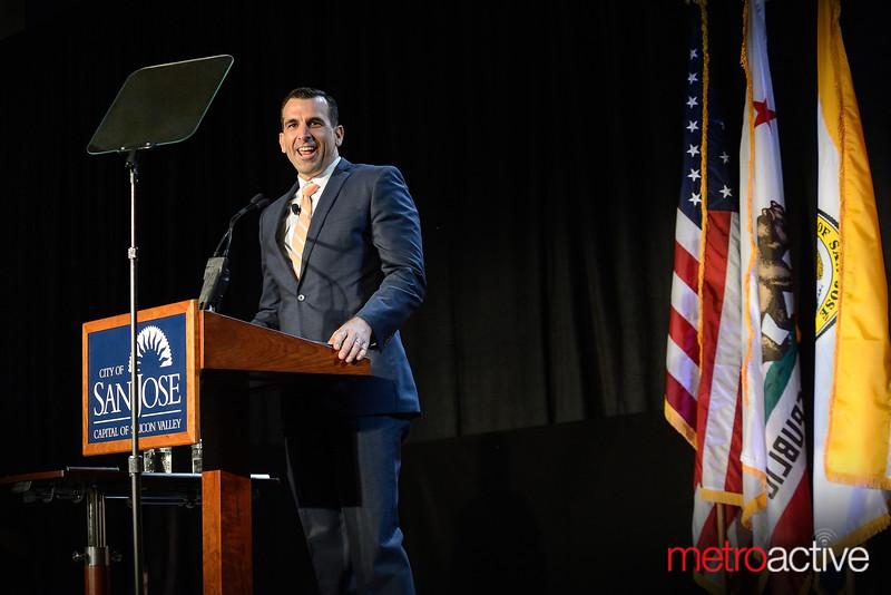 San Jose Mayor, Sam Liccardo