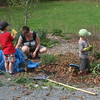 Weeding is an activity the whole family can get into.