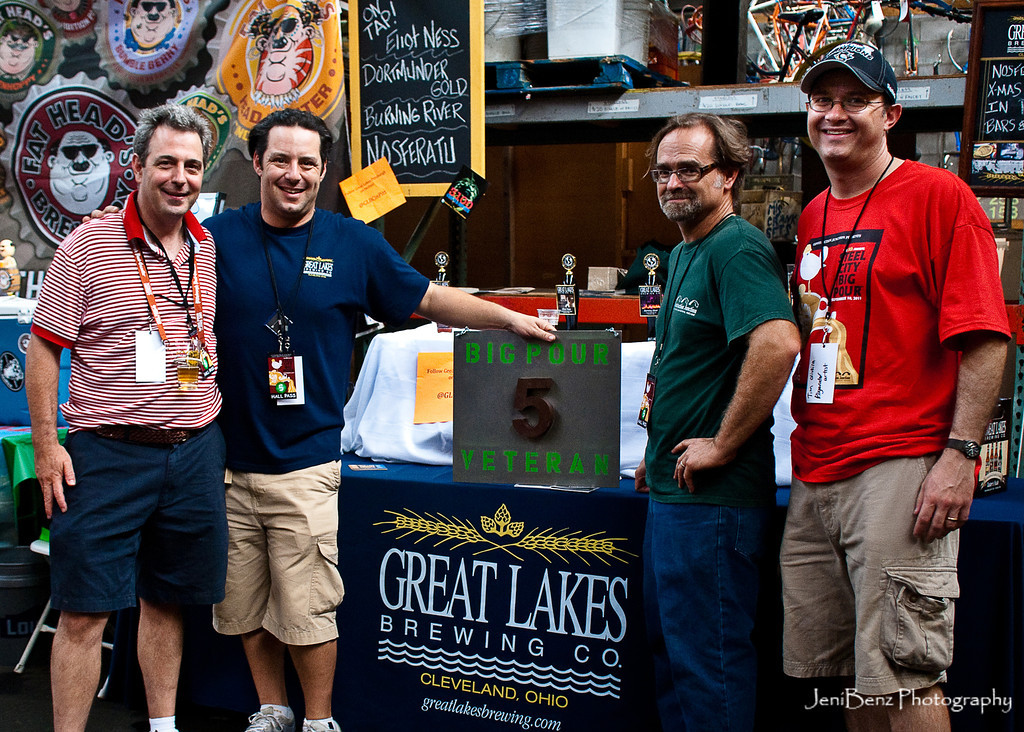 Great Lakes Brewing Company 5 Year Award