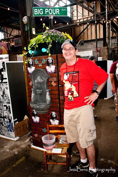 Kegerator Artist Tim Oliveira
