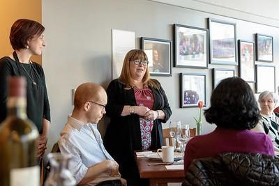 Stella's Circle Volunteer Appreciation Dinner 2018 Hungry Heart Cafe