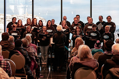 2018 Inclusion Choir Christmas Performance at The Rooms Stella's Circle