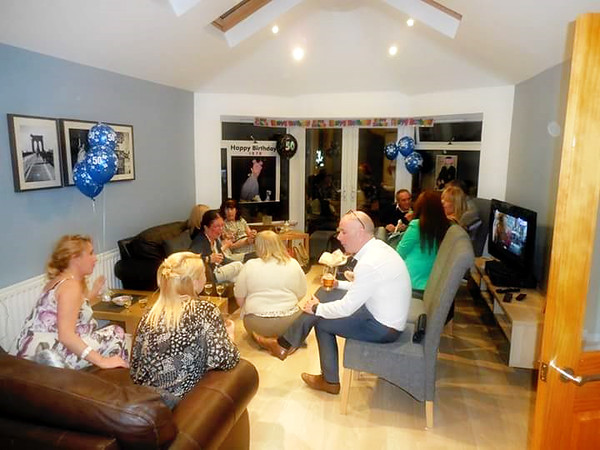 Stephen Perrys 50th birthday<br /> August 2015<br /> Taunton Avenue Belfast