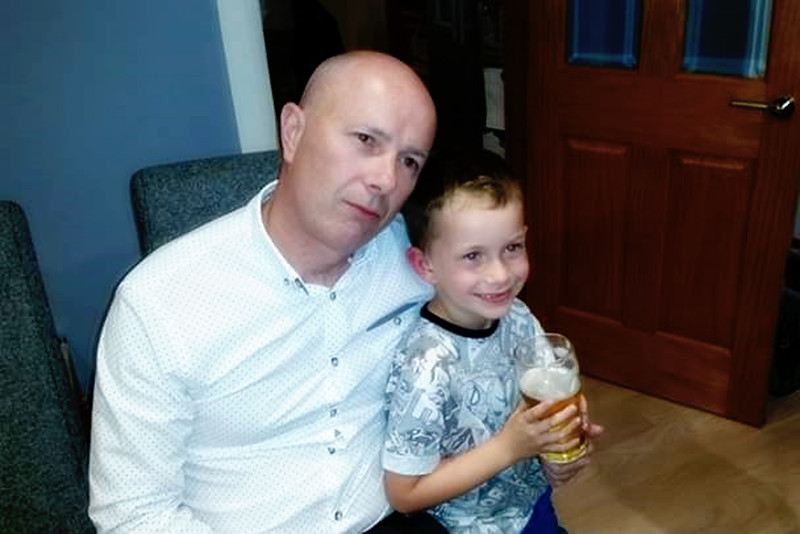 Stephen and Jude Perry<br /> Stephen Perrys 50th birthday<br /> August 2015<br /> Taunton Avenue Belfast
