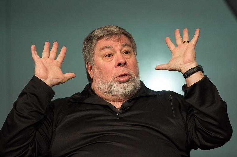 Steve Wozniak at Percona Live MySQL Conference