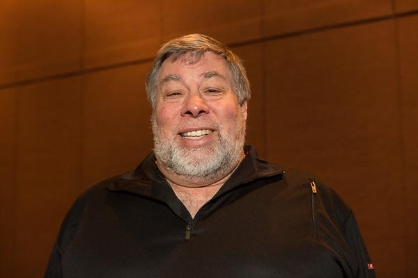 Steve Wozniak at Percona Live MySQL Conference 2015
