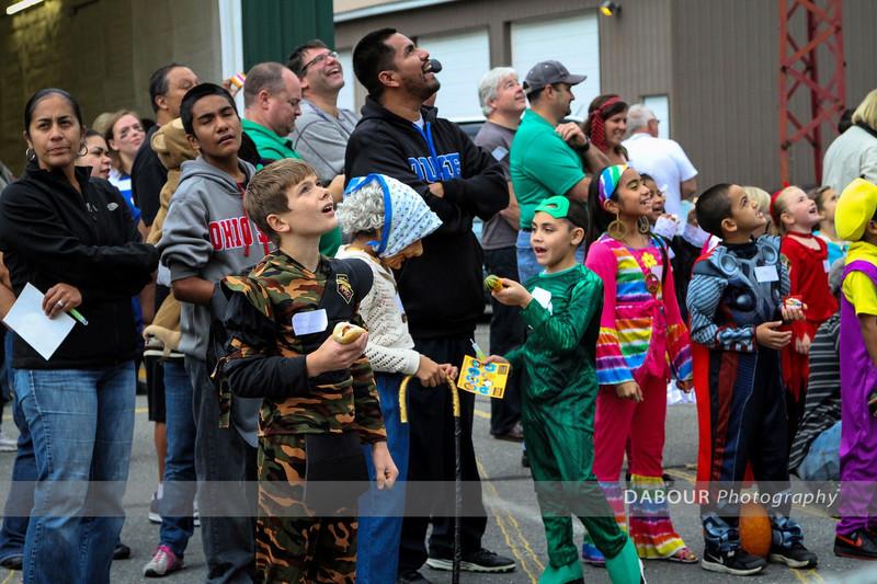Stewartsville Halloween Parade 2012