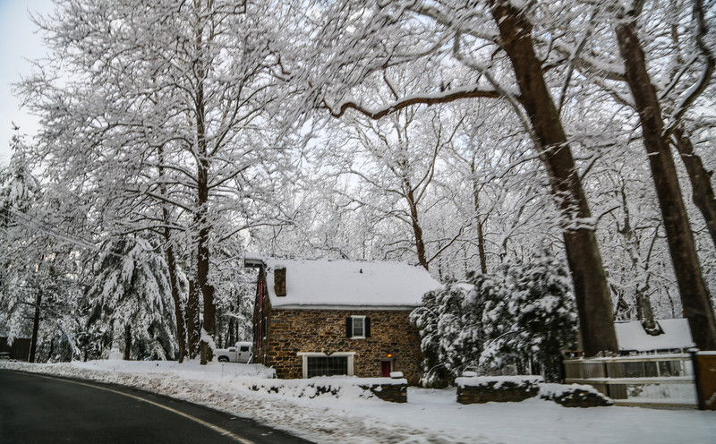 Winter in Greenwich Twp. NJ