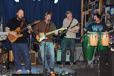 The Sticky Greens band 2014 copyrt 2014 m burgess