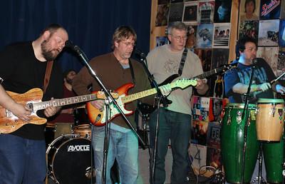 Sticky Greens band 2014 copyrt 2014 m burgess