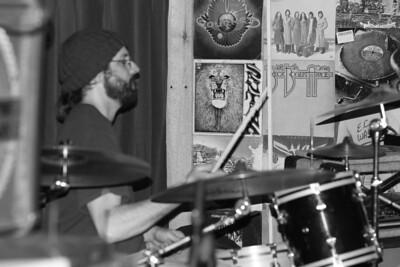 Chris Andrews on Drums copyrt 2014 m burgess