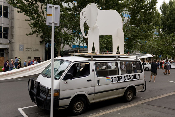 No white elephant!