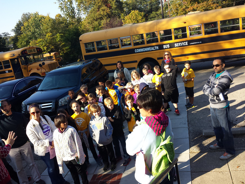 4th grade Locust Grove field trip