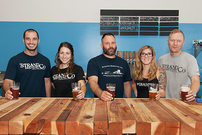 Strand Brewing Ribbon Cutting