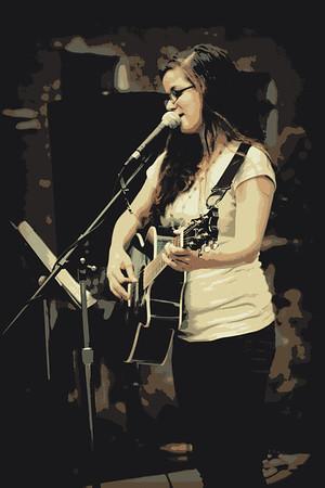 Poster of Ashlee Singing  June 2014