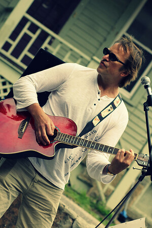 Todd's rocking guitar sound June 2014 Strawberry Fest