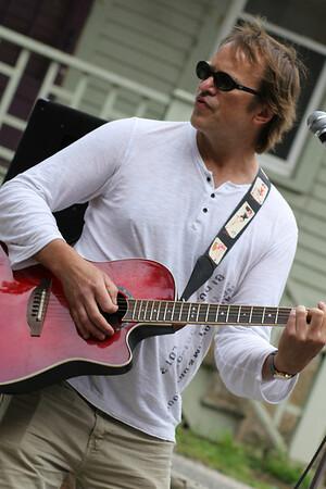 Todd Rocks on Guitar - Strawberry Fest June 2014