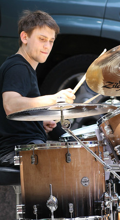 Drummer of The Merks June 2014 Strawberry Fest