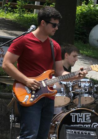 Guitarist The Merks  June 2014