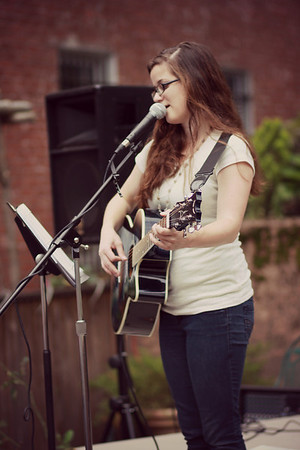 Ashlee at the Strawberry Fest June 2014