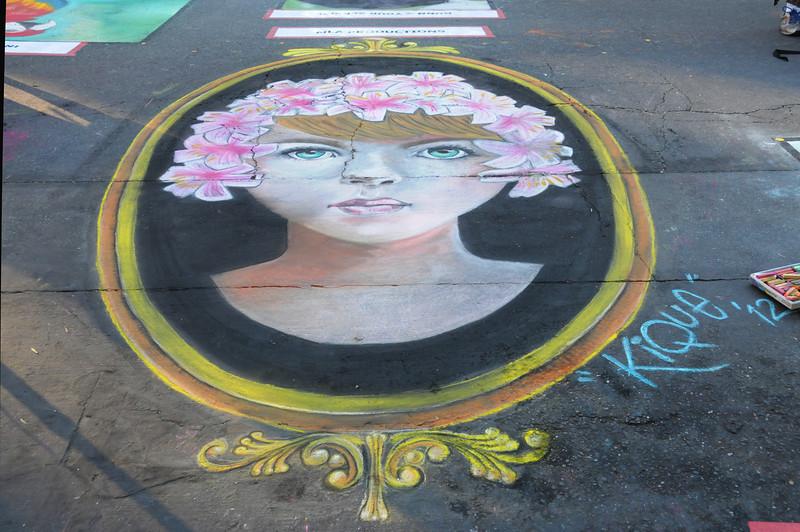 Kique Flower Girl by Henry Casas
