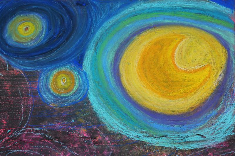 Night sky detail