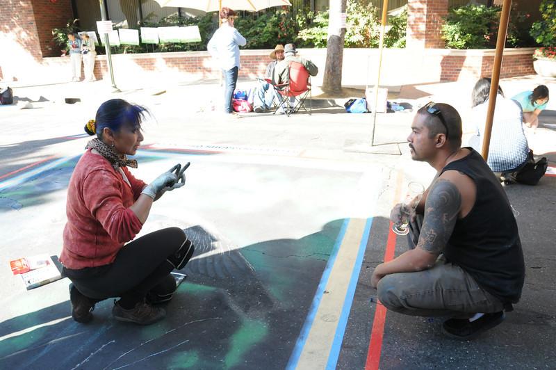 Sharon and Jony talk street fairs