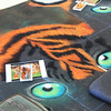 First one! Christine Pasadis with Michelle and Jessica Fowler have created some tiger eyes. Now to add the tiger.