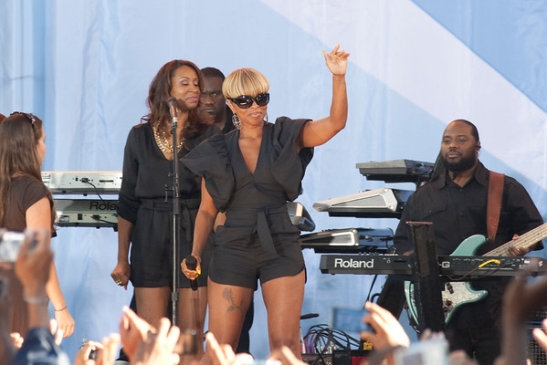 Mary J Blige at Central Park