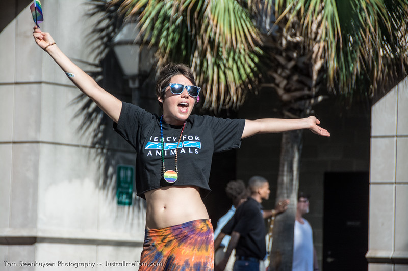 Mercy for Animals Charleston Pride 2013