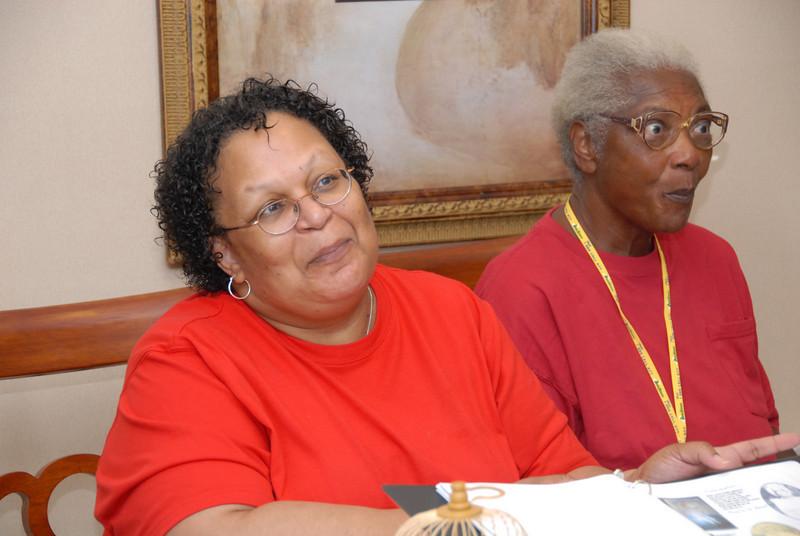 Phillis Williams and Gladys Streeter