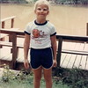 1st picture ever taken of me at the dock. I was 6 years old, bringing my brother to camp, and I couldn't wait to be old enough to stay! (This pic is too hideous *not* to post.)