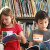 Children reading Elsa's book
