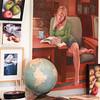 Kirsten's studio wall