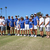 Police, Fire and a few Lawn Bowling Club members filled out our USA team