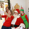 Selfie with Santa time