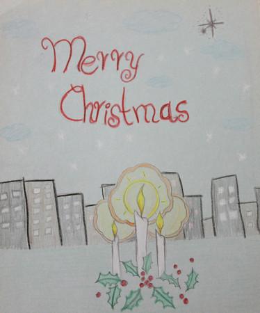 Christmas Card Art Contest 12/01/2012