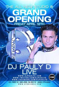 Grand Opening Pauly D