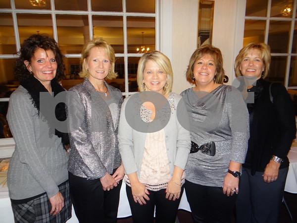 Dorus Taits, Tammy O'Tool, Pam McCarville, Pam Bunte, and Sally Knaayenbrink.