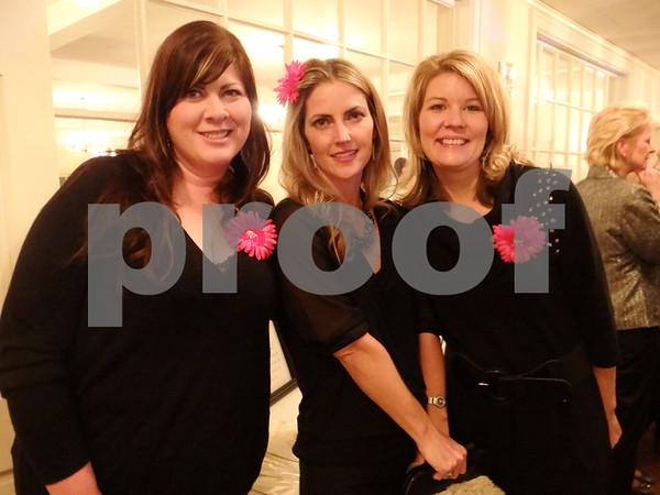 Sara Hill, Ellen McBride, and Kim Galles