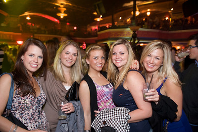 Sue Brown, Britney Whelan, Kendra Rummes, Tina Cuceaite, Melissa McClay