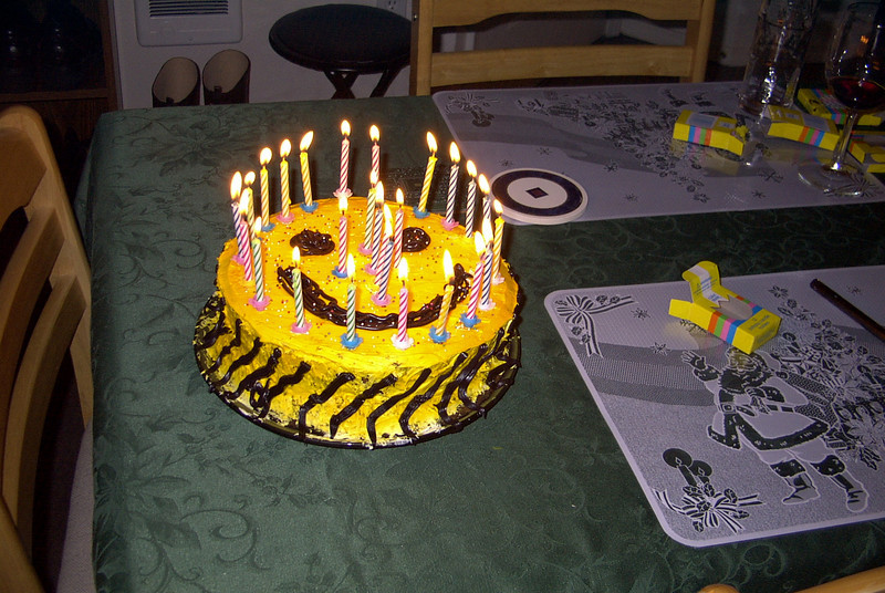 ...with 26 candles.