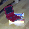 I got a GameBoy Advance SP and Super Mario Bros 3 for my 26th birthday!
