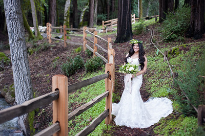 Styled Wedding Shoot at Redwood Retreat