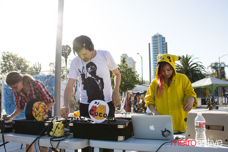 """At SubZERO Festival in Downtown San Jose. If you're one of the artists and would like a copy of your photo(s), please contact me personally.<br /> <br /> Photo by Geoffrey Smith II 